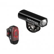 Lezyne Hecto Pro 65 + KTV Drive Beleuchtungsset StVZO zugelassen Farbe schwarz