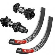 27,5 Zoll Laufradsatz MTB DT Swiss 350 Straightpull Naben Disc 6 Loch + DT Swiss XR 331 Felgen