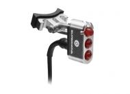 Supernova E3 Tail Light 2 Ruecklicht LED rot 6 V Sattelstuetzen Montage silber