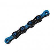 KMC Kette DLC10 schwarz - blau 116 Glieder 10 fach incl Link