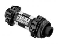 DT Swiss 350 Vorderradnabe Straightpull Centerlock schwarz 28 Loch QR12