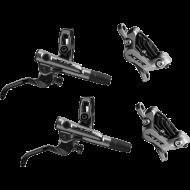 Disc Set Shimano XTR M9120 Trail 4 Kolben Scheibenbremsen ohne Scheiben