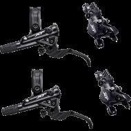 Disc Set Shimano XT Bremse M8100 I-Spec EV schwarz 2 Kolben