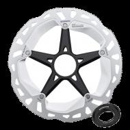 Shimano XT Ice Tech Freeza Bremsscheibe RT-MT800M-E Centerlock externer Lockring 180 mm