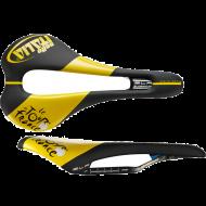 Selle Italia SLR Kit Carbonio Superflow Sattel S3 TDF Edition schwarz-gelb Gestell Carbon