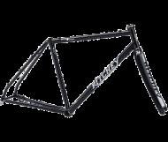 Ritchey Swiss Cross Disc Rahmen Gabel Kit schwarz Groesse XXL