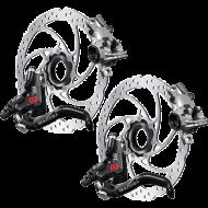 Disc Set Magura MT 8 Pro HC1 Bremsen + Storm Centerlock Scheiben