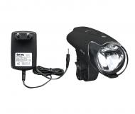 Busch + Mueller IXON IQ Premium Fahrradlampe 80 Lux incl Akkus und Netzladegeraet