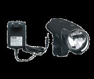 Busch und Mueller IXON IQ Fahrradlampe 40 Lux incl Akkus und Netzladegeraet