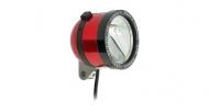 Schmidt Son Edelux II Fahrradlampe rot 60 cm Kabel 90 Lux