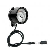 Schmidt Son Edelux II Fahrradlampe schwarz 60 cm Kabel Koax Stecker + Adapter 90 Lux