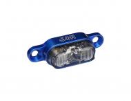 Schmidts SON Ruecklicht Gepaecktraeger 190cm Kabel Farbe blau Glas klar