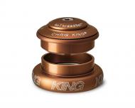 Chris King InSet i7 Steuersatz Mixed Tapered ZS44-EC44 matte bourbon