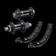 Laufradsatz 27,5 Zoll Shimano XT M8110 Naben Rotor Micro Spline + WTB KOM light i29 Felgen