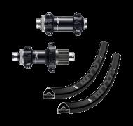 Laufradsatz 29 Zoll Shimano XT M8110 Straightpull Boost Naben Rotor Micro Spline + WTB KOM light i23 Felgen