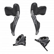 Disc Set Shimano GRX Di2 ST-RX815 STI Dual Control 11x2 fach + BR-RX810 Flat Mount Scheibenbremsen 11x2 fach