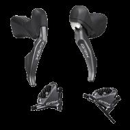 Shimano GRX Di2 ST-RX815 STI / BL-RX810 Hebel 11x1 fach + BR-RX810 Flat Mount Scheibenbremsen