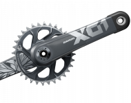 Sram X01 Eagle Kurbel DUB Super Boost+ DM 32 Zaehne lunar-grey 175 mm