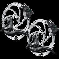 Disc Set Magura MT4 eStop Bremsen + Storm HC Scheiben