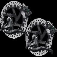 Disc Set Magura MT 4 eStop Bremsen + MDR-P Scheiben