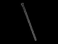 DT Swiss Aero Comp Wide Straight Speichen schwarz Laenge 291 mm ohne Nippel