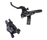 Shimano XT Scheibenbremse M8120 I-Spec EV schwarz 4 Kolben Hinterrad Griff rechts