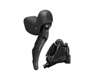 Disc Shimano GRX STI Dual Control ST-RX600 links 2 fach + BR-RX400 Flat Mount Scheibenbremse