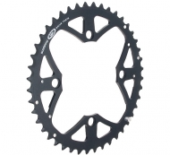 Shimano XT Kettenblatt 48 Zaehne FC-M771 schwarz 9 fach 104 Lochkreis
