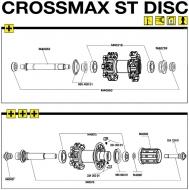 Mavic Crossmax ST Disc Einstellschraube Vorderrad, Art Nr. M40759