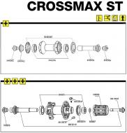 Mavic Crossmax ST Rahmenanschlag